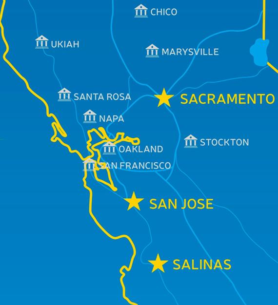 Haworth, Bradshaw, Stallknecht & Barber, Inc. - California Office locations